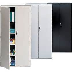Metal Storage Cabinet With Lock Staples 174 72 Quot Locking Steel Storage Cabinets Staples 174