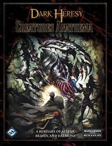 False Bookshelf Dark Heresy Creatures Anathema Bestiary 40k Rpg Tools