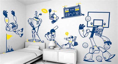 how to do wall painting designs yourself 家居装修中创意时尚的墙绘设计
