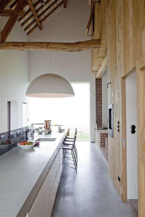 werken in een keuken wonen en werken in een oude hoeve renovaties pinterest