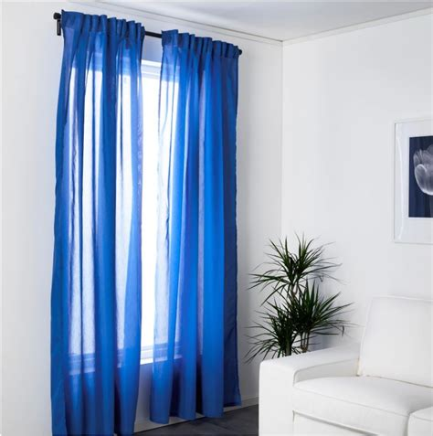 ikea window curtains ikea vivan sheer window panel curtains pair 145cm x 250cm
