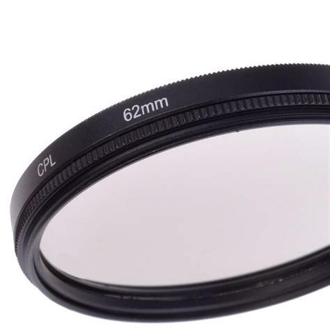 filtro camara nikon filtro polarizado 62mm para canon nikon pentax sony sigma