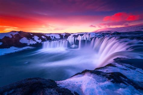 iceland waterfall hd wallpapers 4k waterfall iceland hd nature 4k wallpapers images