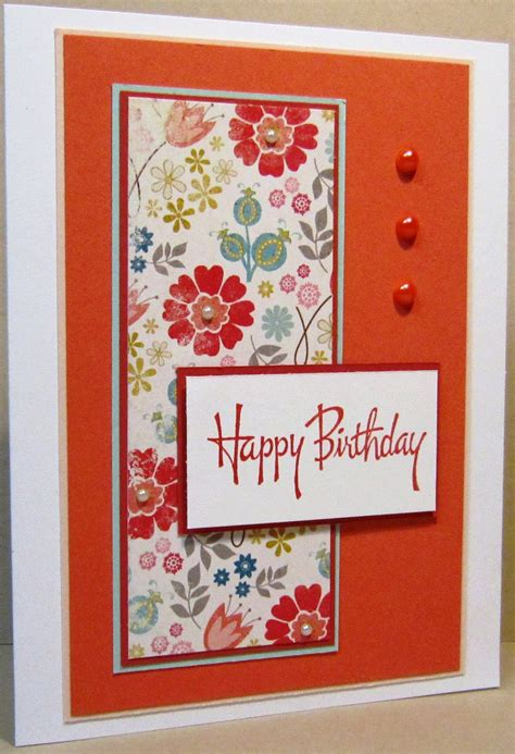 Handmade Sheet Greeting Cards - i spi fancy floral