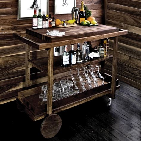 Interior Mobile Home Doors by 6 Great Home Bar Carts You Should Absolutely Own