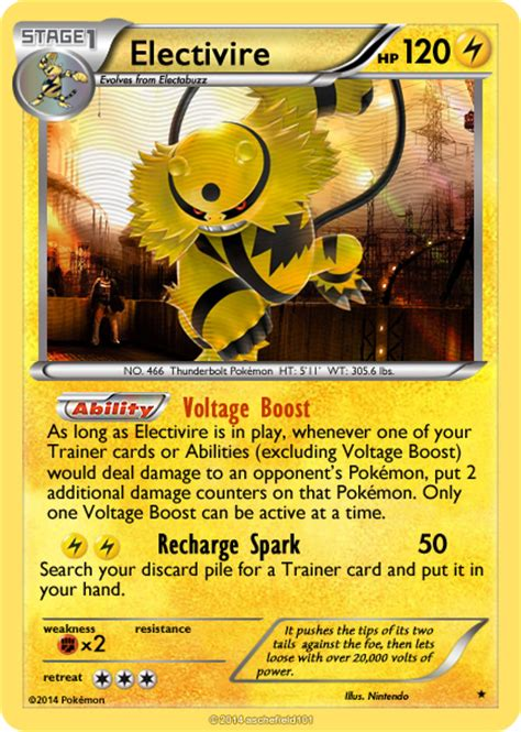 Card Electabuzz Electivire electivire card images images