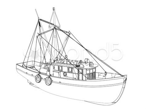 how to draw boat lines plan draw shrimp boat mmlarge hi res video 977426