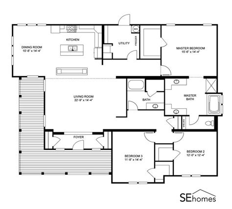 manufactured home floor plan 2006 clayton cumberland 1000 images about there s no place like home on