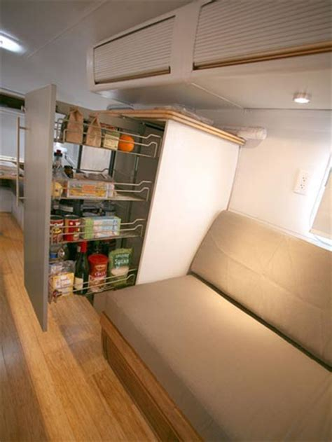 Rv Interior Storage Solutions by A Modern Remodel Of The Classic Airstream Trailer Travel