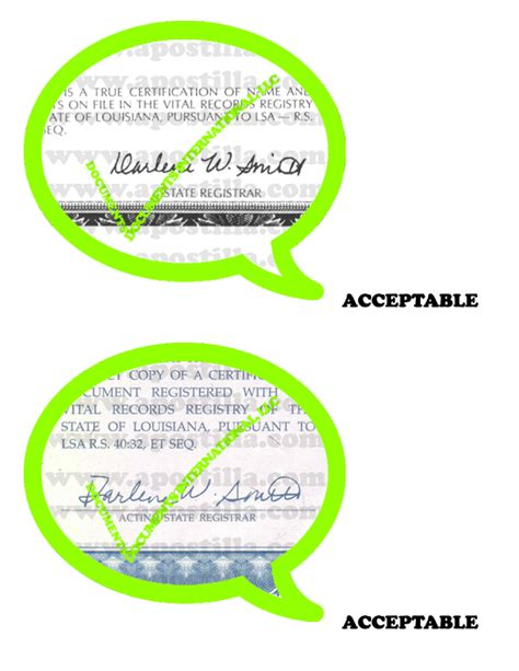 Vital Records Louisiana Birth Certificate Louisiana Apostille Apostilla