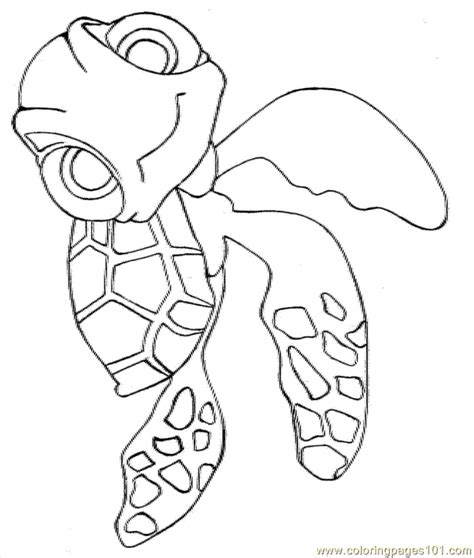 nemo squirt coloring pages bruce from nemo coloring pages