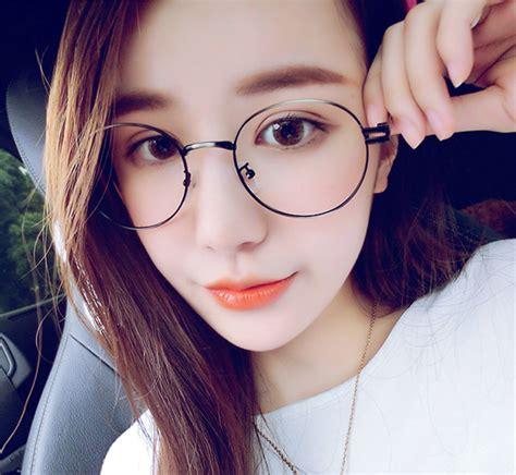 2015 new korea fashion brand metal vintage glasses
