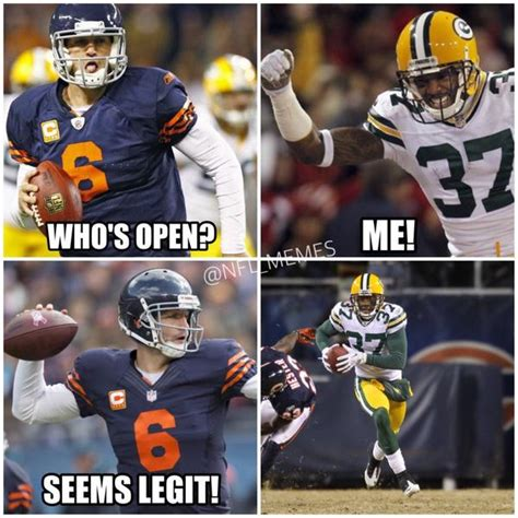 Bears Packers Meme - nfl memes on twitter quot recap of the bears vs packers game