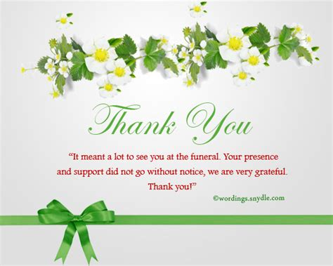 Thank You Note Quotes Sympathy Sympathy Thank You Notes Wordings And Messages