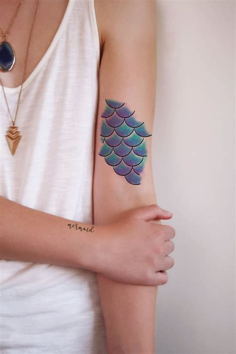 small best tattoos best 25 small mermaid ideas on