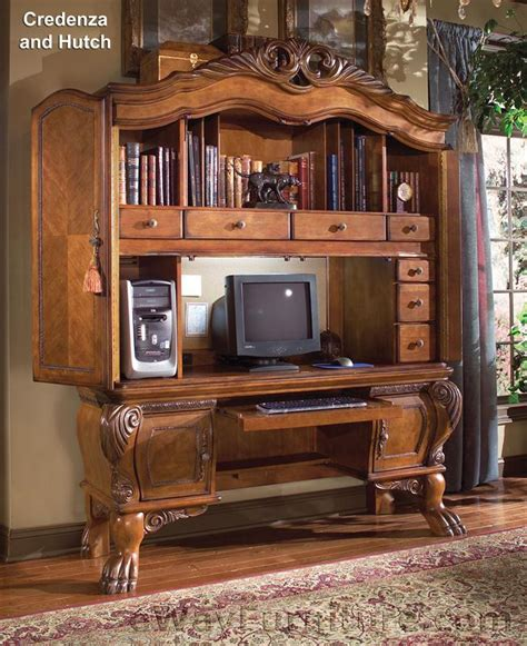 home office credenza arcadia home office credenza and hutch