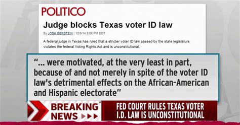 texas voter id law new voter id laws blocked in texas wisconsin