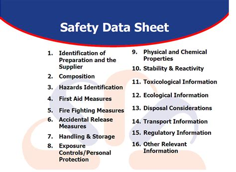 sds sections new safety data sheet pictures to pin on pinterest pinsdaddy