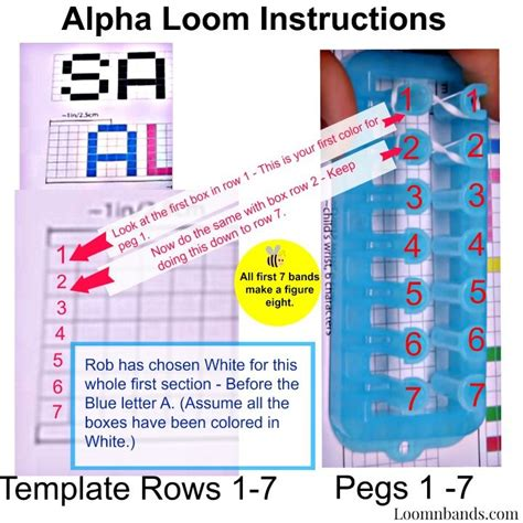 printable directions for rubber band bracelets 64 best alpha loom wrapit loom rainbow loom images on