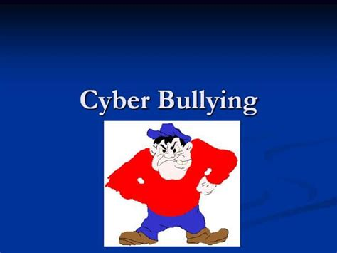 templates powerpoint bullying cyberbullying authorstream