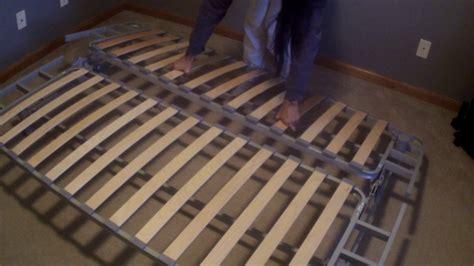 futon youtube assembling an ikea futon youtube