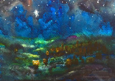Exceptional Program Christmas Lights #5: Starry-Night-Card.jpg