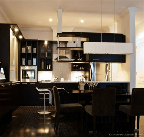 black kitchen design 53 stylish black kitchen designs decoholic