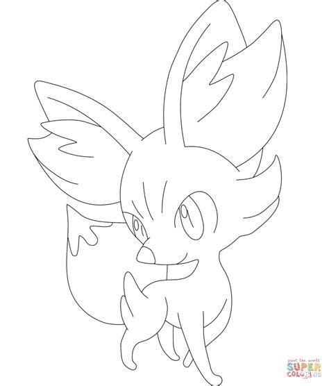 pokemon coloring pages fennekin desenho de fennekin para colorir desenhos para colorir e