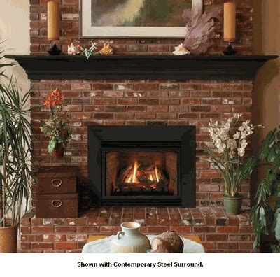 Vented Propane Fireplace Inserts With Blower by Empire Innsbrook Large Direct Vent Gas Fireplace Insert