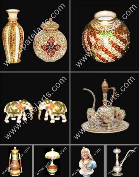 Silver Leaf Decoration by Marble Handicrafts Marble Handicrafts Manufacturers