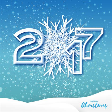 Free Wish Gift Card 2017 - 2017 christmas greeting cards with paper cut vector vector card vector christmas