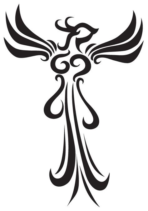 phoenix tattoo design simple phoenix tattoos and designs page 69