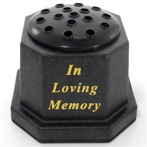 memorial memorial grave vases pots florist supplies uk
