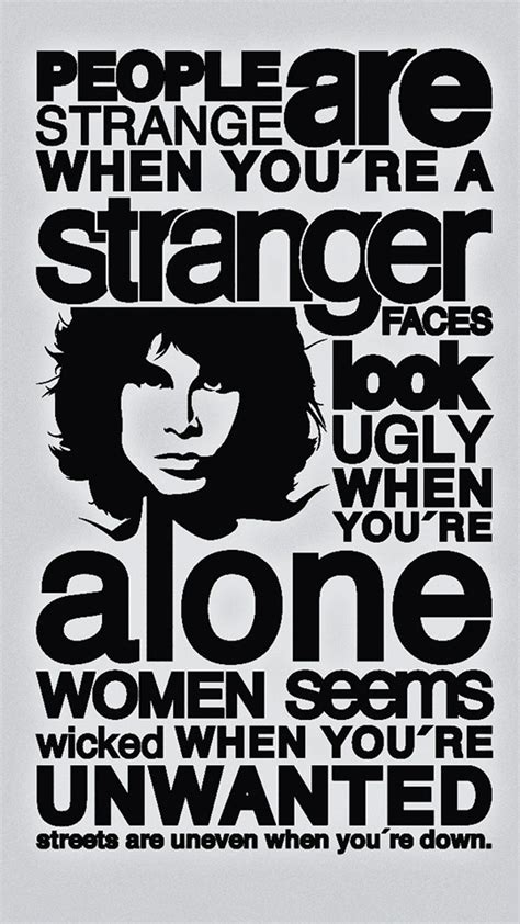 I Looked At You The Doors Lyrics by The Doors Quotes Hd Wallpaper Iphone 6 Plus