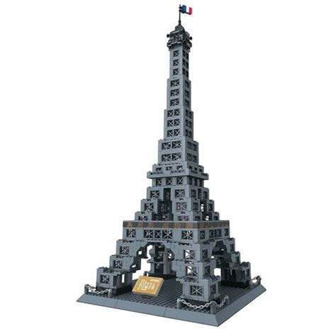 Lego Compatible Canon eiffel tower lego compatible model cool lego sets