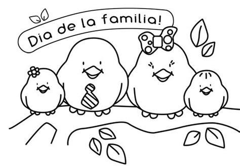 imagenes para dibujar la familia dibujos del d 237 a de la familia para imprimir y pintar