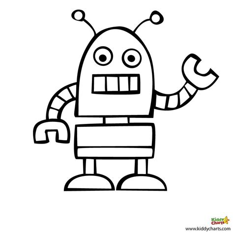 Robot Coloring Pages Beep Beep Robot Colouring Pages