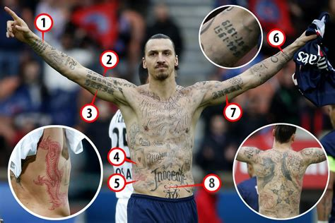 ibrahimovic tattoo fotos zlatan ibrahimovic tattoos weneedfun