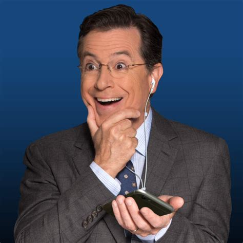 in the bad room with stephen psbattle stephen colbert listening to his new podcast