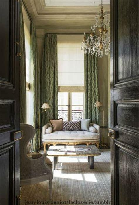 The Interiors Of The Parisian Apartments | paris apartment interiors charming french pinterest