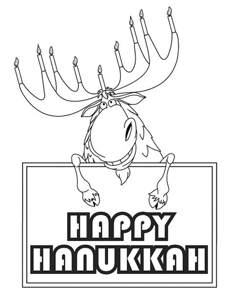 coloring pages of chanukah free coloring pages of hanukkah printable