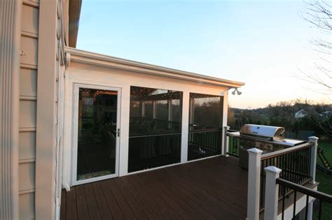 Removable Patio Screen by Screen Porch Design Ideas Maryland