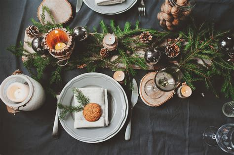 Decorer Sa Table De Noel by Diy Comment Bien D 233 Corer Sa Table De No 235 L