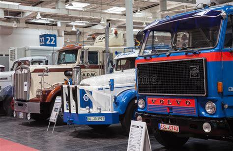 kenworth trucks deutschland historic volvo and kenworth trucks editorial image image