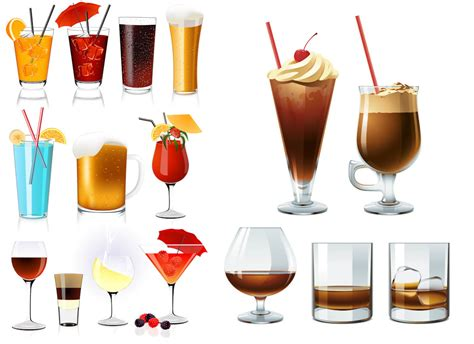 cocktail vector drinks vector graphics page 2