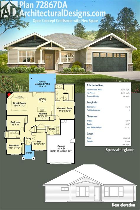 open concept house plans 25 best ideas about one level homes on one