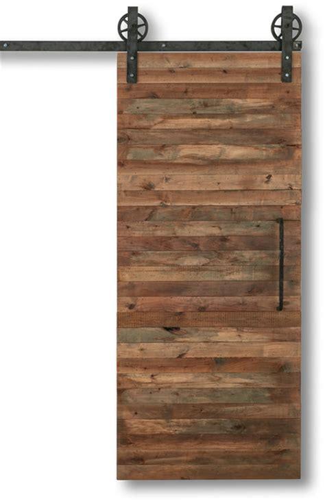 Reclaimed Slat Barn Door Rustic Interior Doors By Interior Doors With Slats