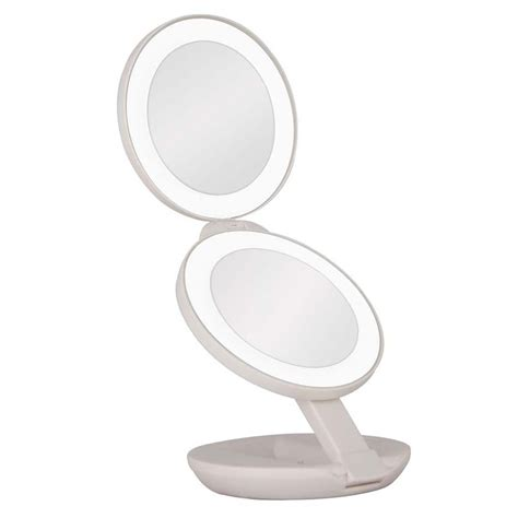 Lighted Travel Mirror Zadro Dual Led Lighted Travel Mirror 1x 10x