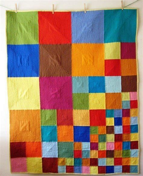 Patchwork Squares Patterns - this would make an awesome mitered square blanket
