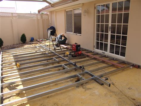 how to construct a deck how to build a deck frame nexgen decking